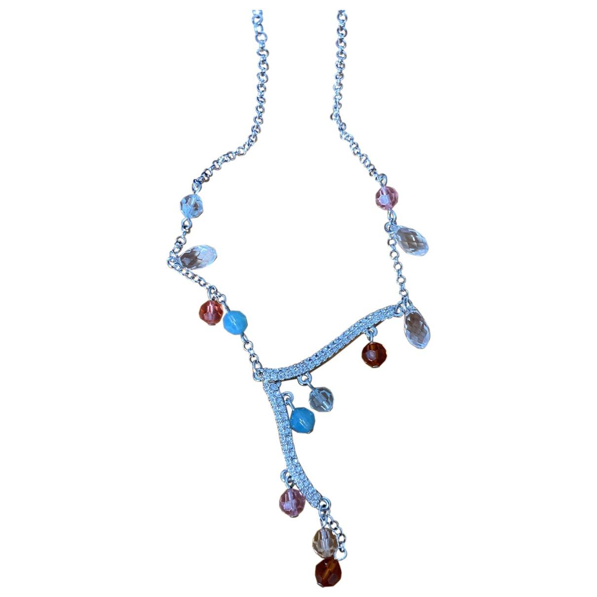 Swarovski Slake Halskette in  Bunt Glas