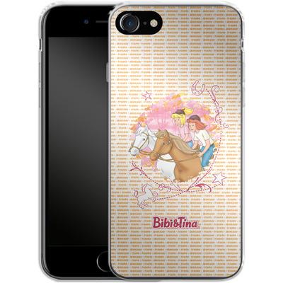 Apple iPhone 8 Silikon Handyhuelle - Bibi und Tina Abenteuer von Bibi & Tina