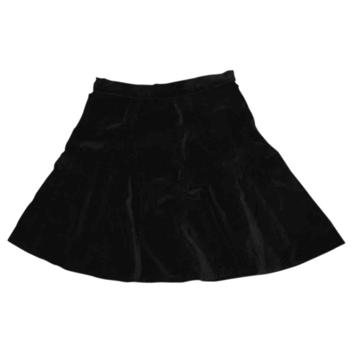 Rag & Bone \N Black Velvet skirt for Women 00 0-5