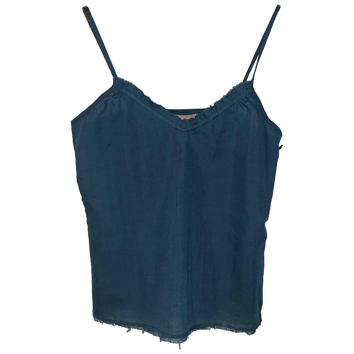 Marni - Top   pour femme en laine - turquoise