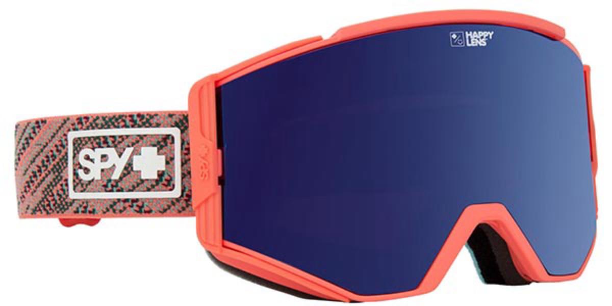 Spy ACE Spy Knit Blush - Happy Rose W/ Darl Blue Spectra + Happy Pin Men's Sunglasses Red Size 150