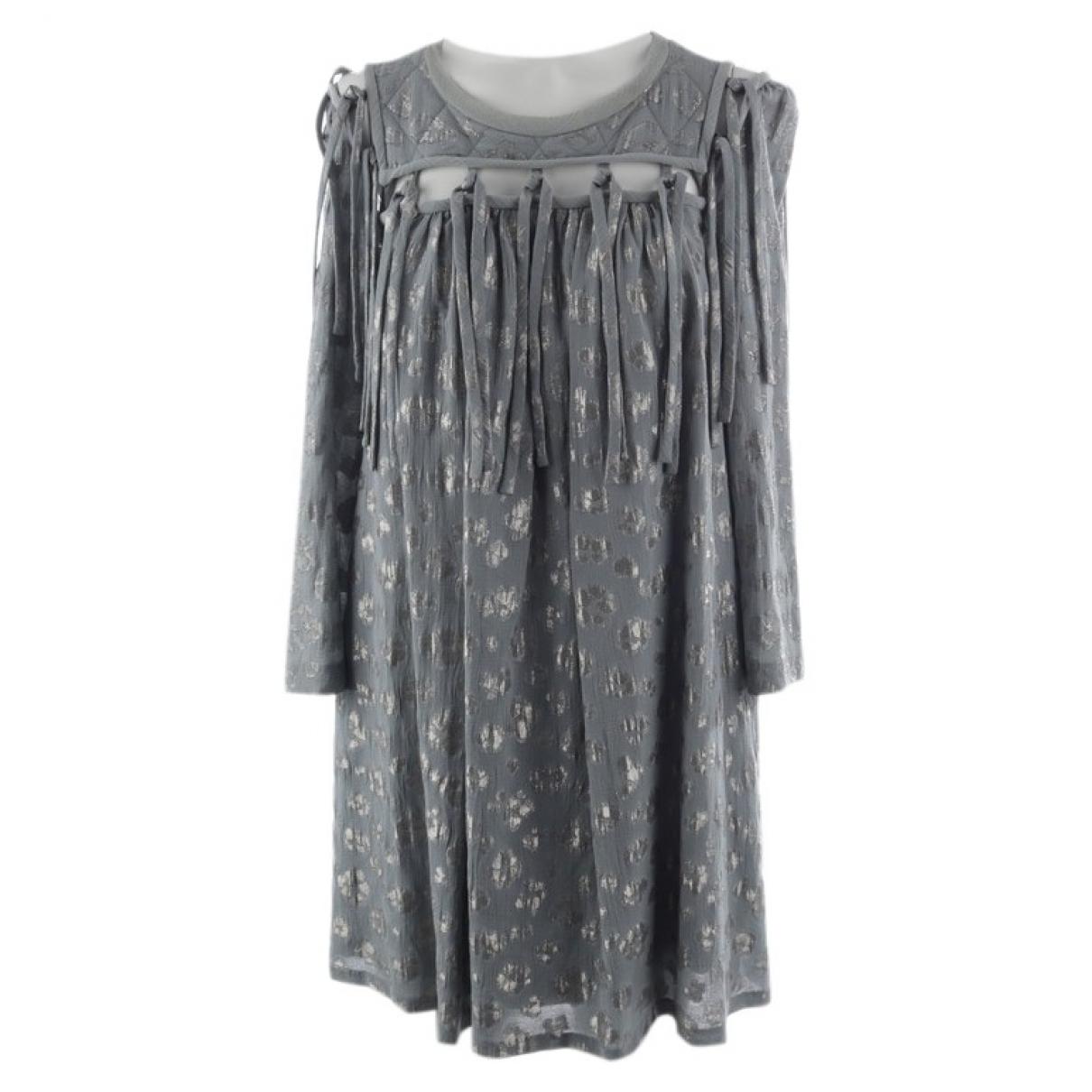 Chloe \N Kleid in  Gruen Baumwolle