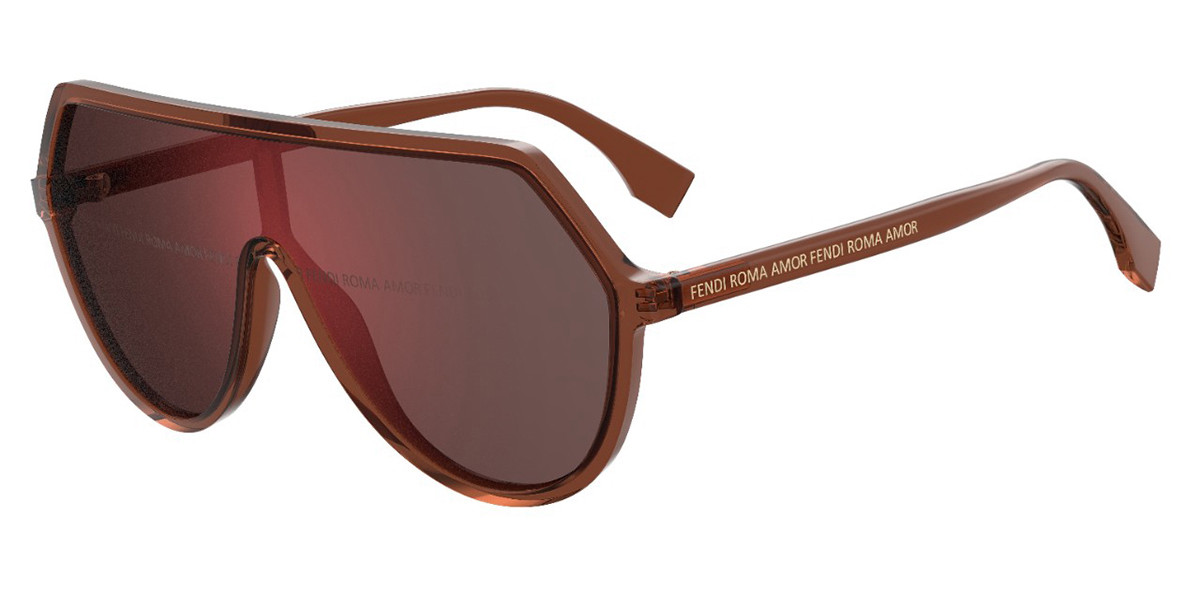 Fendi FF 0377/S 09Q/0L Women's Sunglasses Brown Size 99