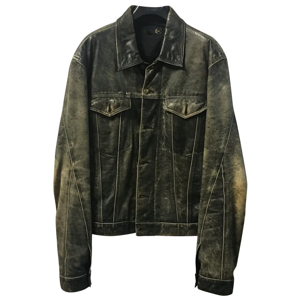Just Cavalli \N Brown Leather jacket  for Men L International