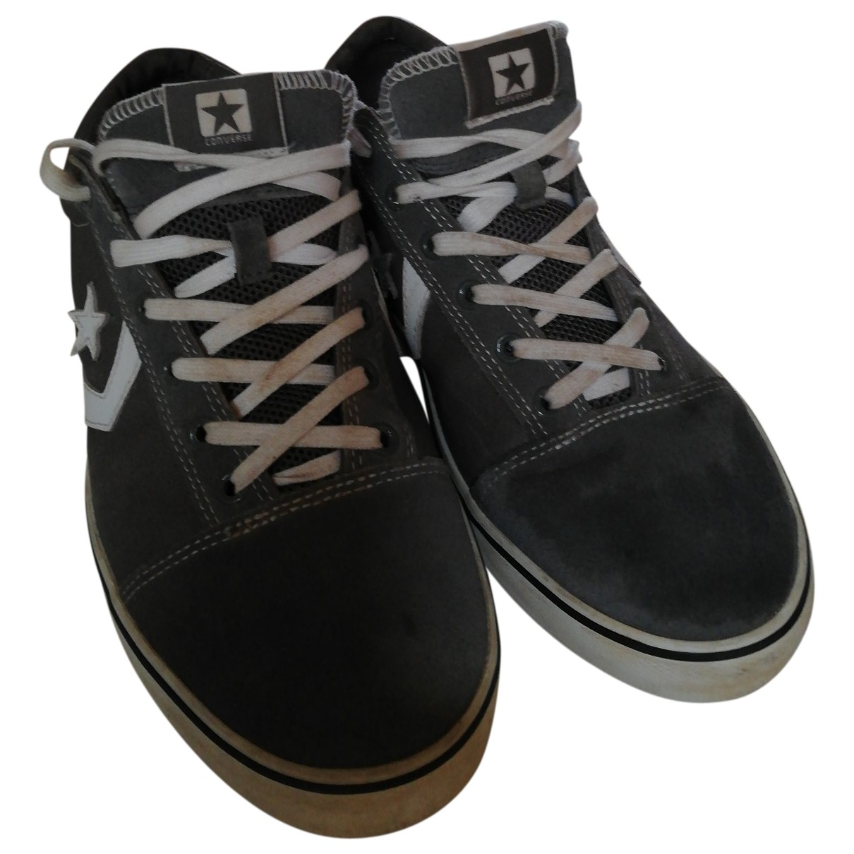 Converse \N Grey Cloth Trainers for Men 44 EU