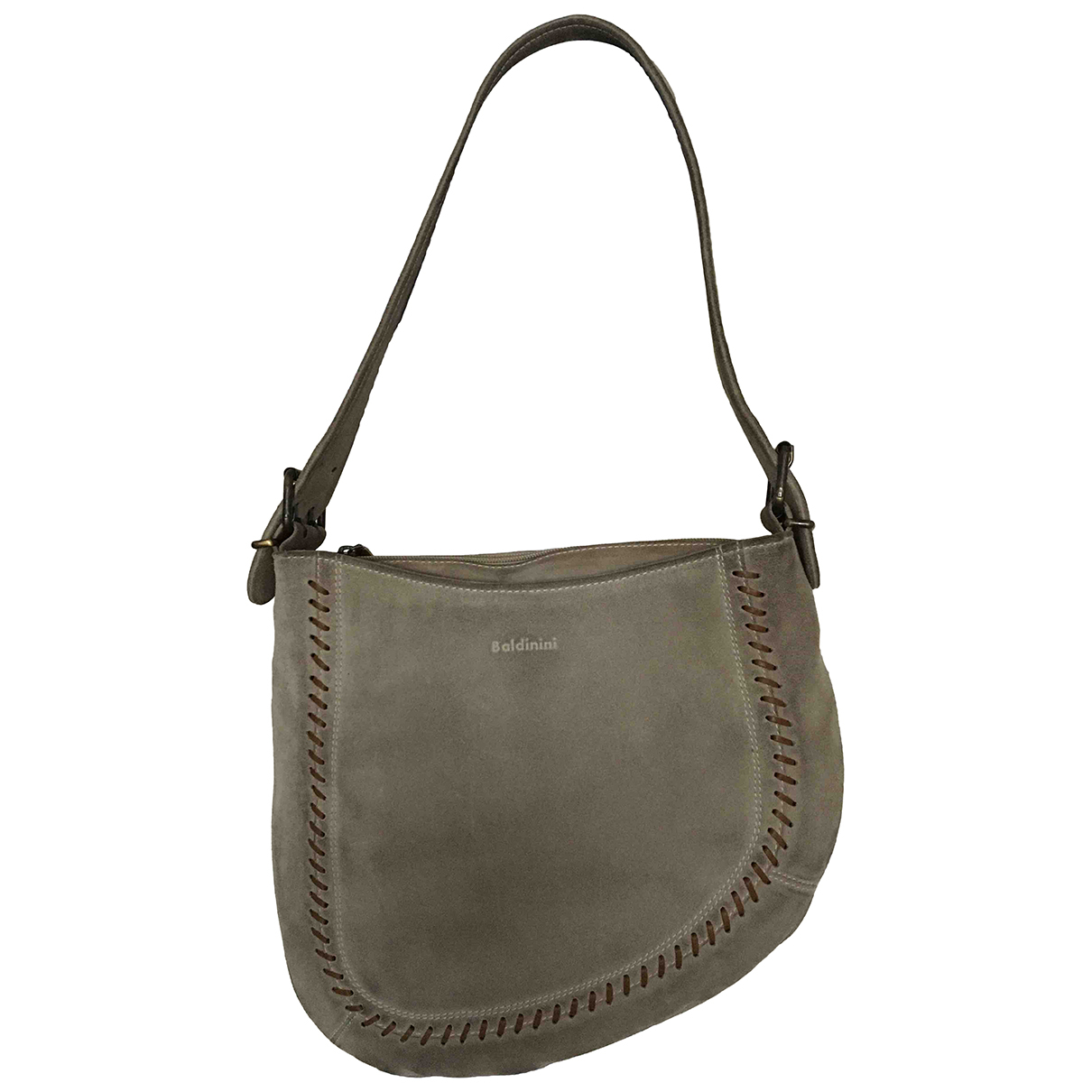 Baldinini N Grey Suede handbag for Women N