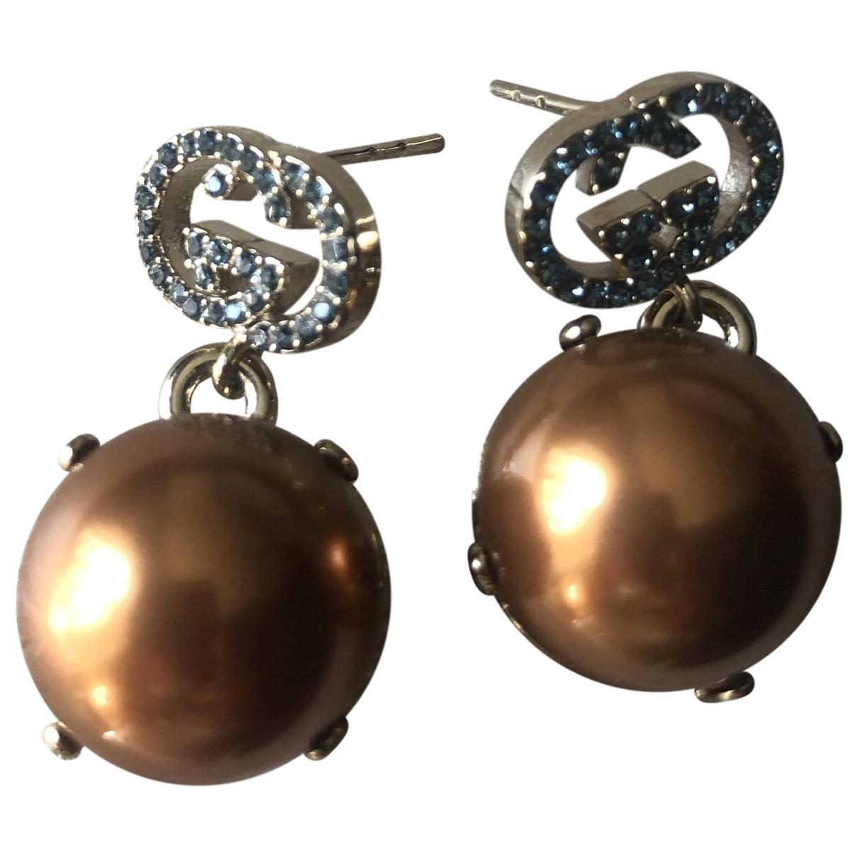 Gucci \N OhrRing in Perlen