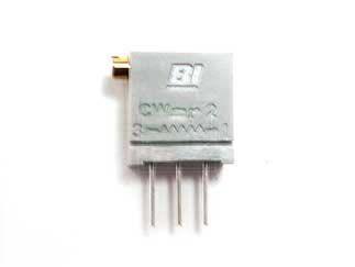 TT Electronics/BI 10kΩ, Through Hole Trimmer Potentiometer 0.5W Side Adjust , 67 (50)