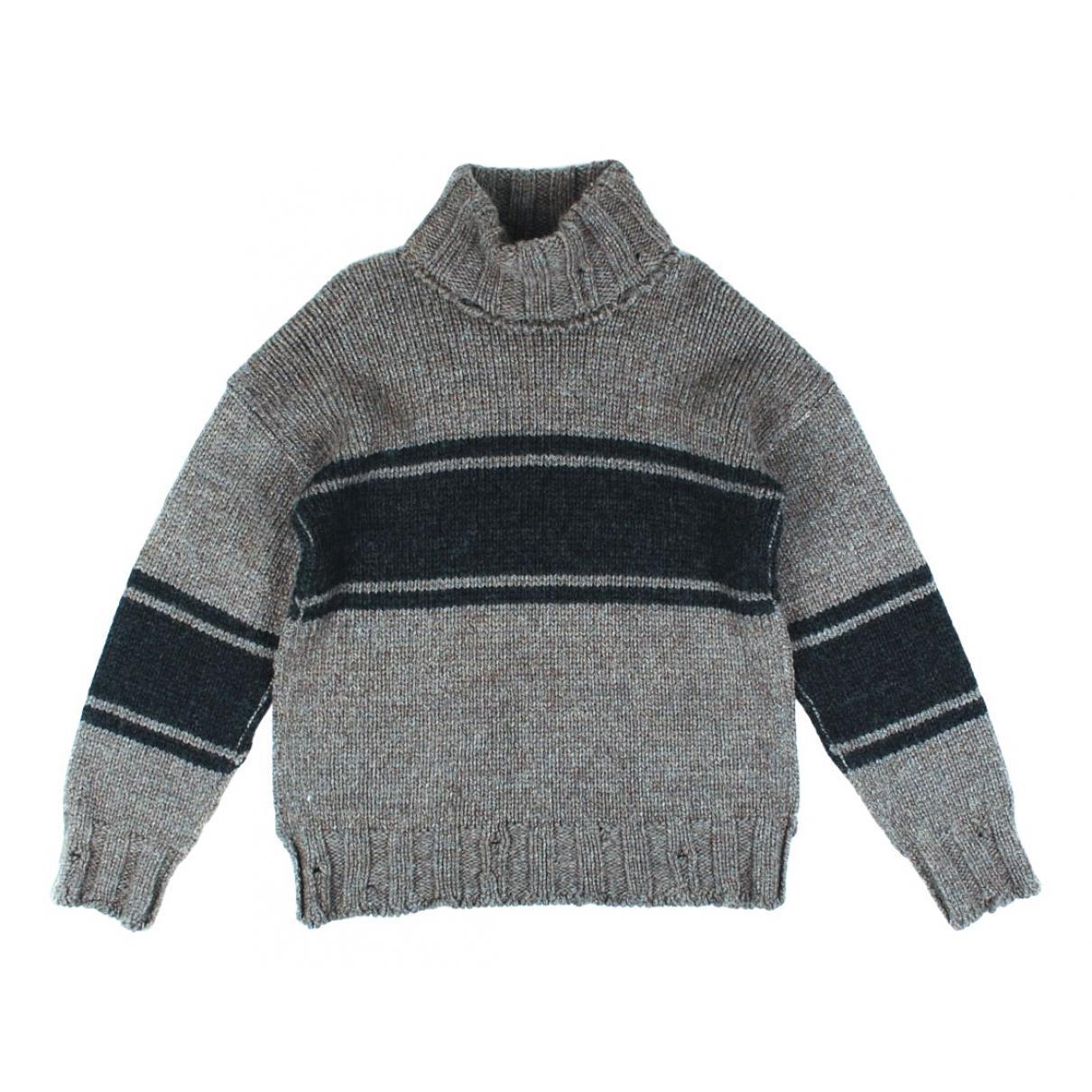 Dolce & Gabbana - Pulls.Gilets.Sweats   pour homme en laine - gris