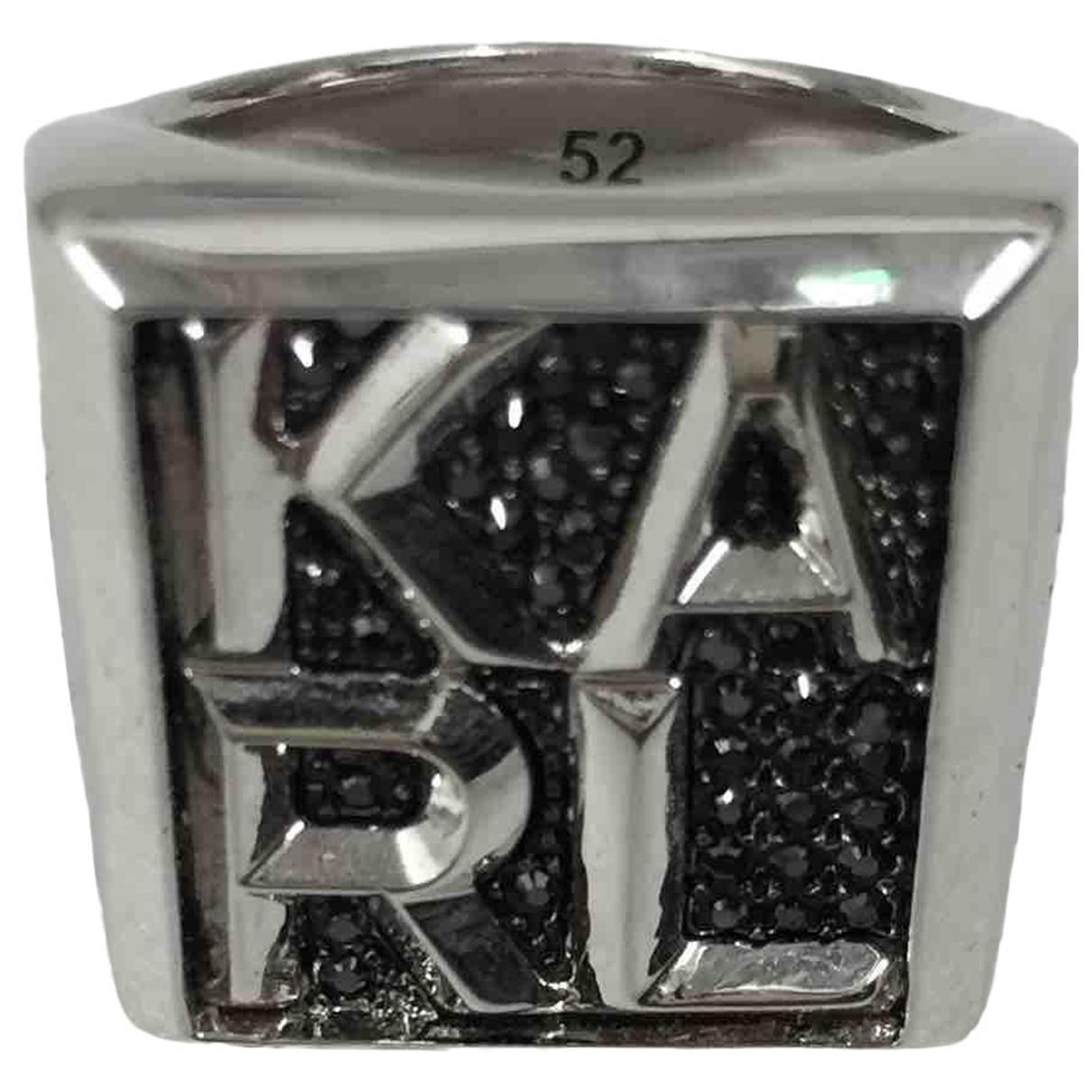 Karl Lagerfeld \N Ring in  Silber Metall