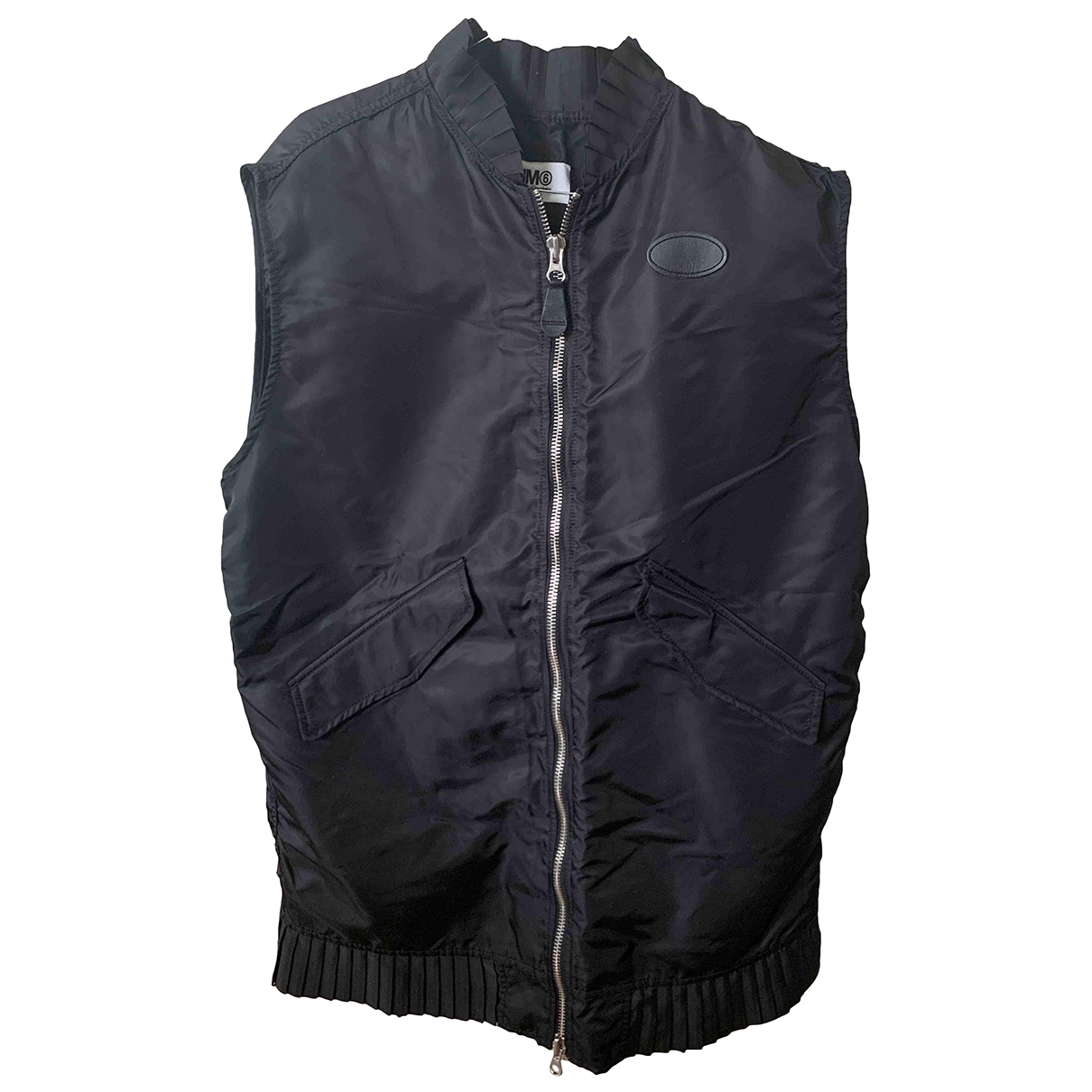 Mm6 \N Jacke in  Schwarz Polyester