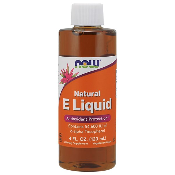 Vitamin E Liquid 4 OZ by Now Foods