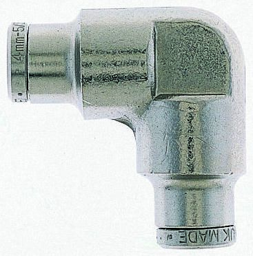 Norgren Pneumatic Elbow Tube-to-Tube Adapter Push In 10 mm to Push In 10 mm (5)