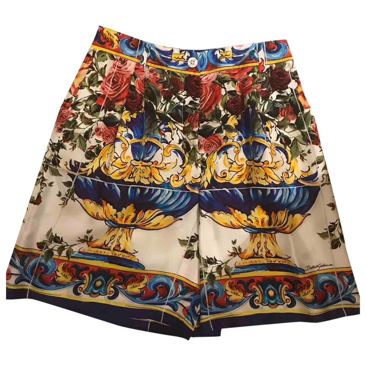 Bermuda de Seda Dolce & Gabbana