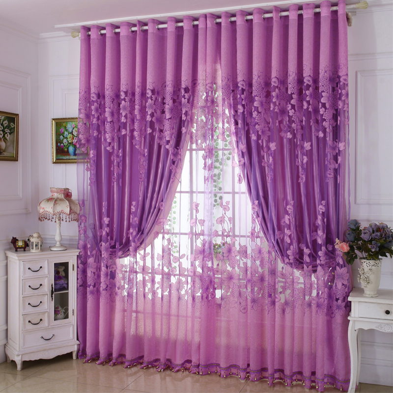 Blackout Classical Material Jacquard Technics Royal Style Curtain Sets