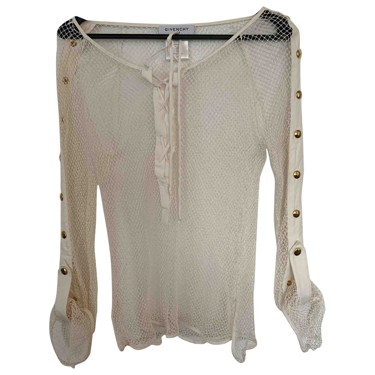 Givenchy \N Top in  Weiss Baumwolle
