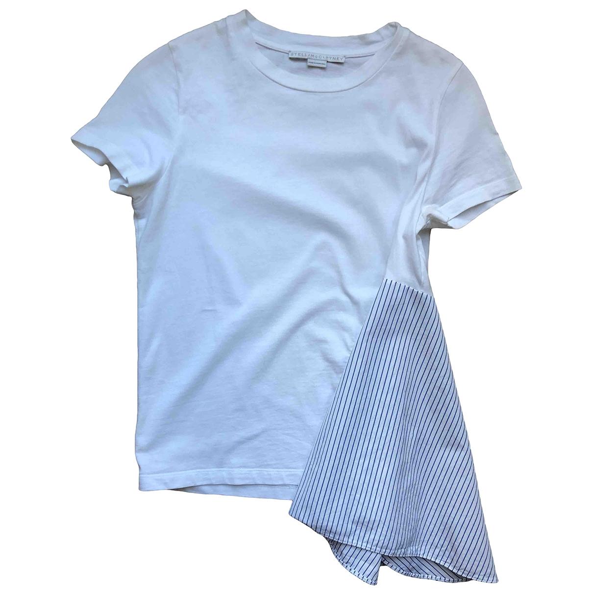 Stella Mccartney \N White Cotton  top for Women 38 IT