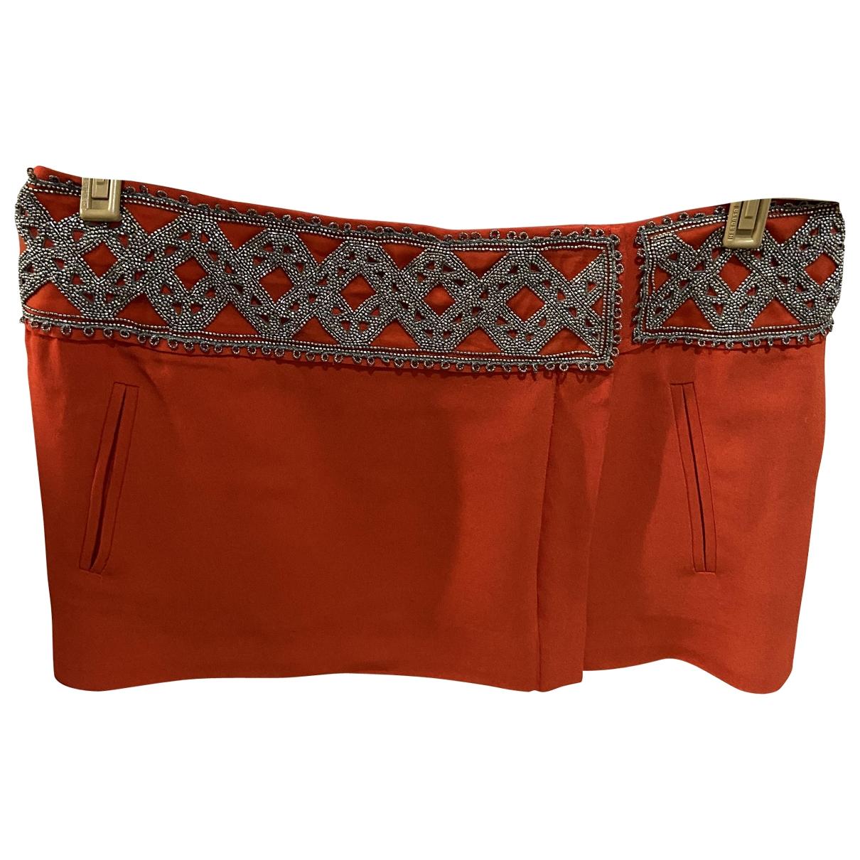 Isabel Marant \N Orange Silk skirt for Women 38 FR