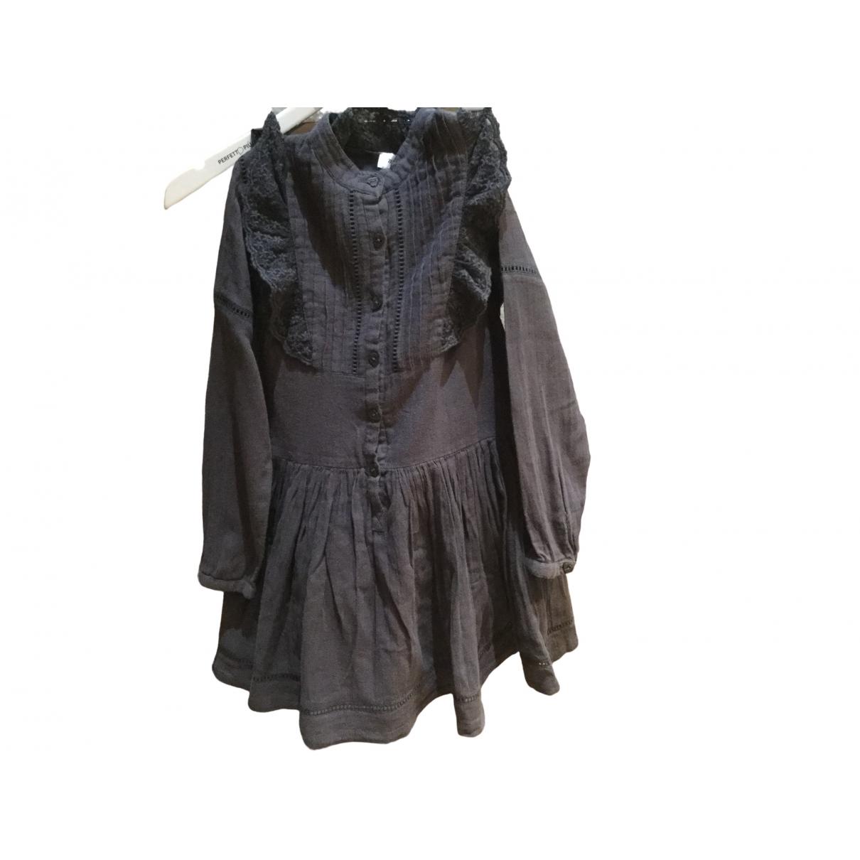 Zadig & Voltaire \N Kleid in  Braun Baumwolle