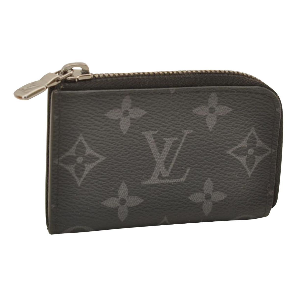 Louis Vuitton \N Kleinlederwaren in  Grau Leinen