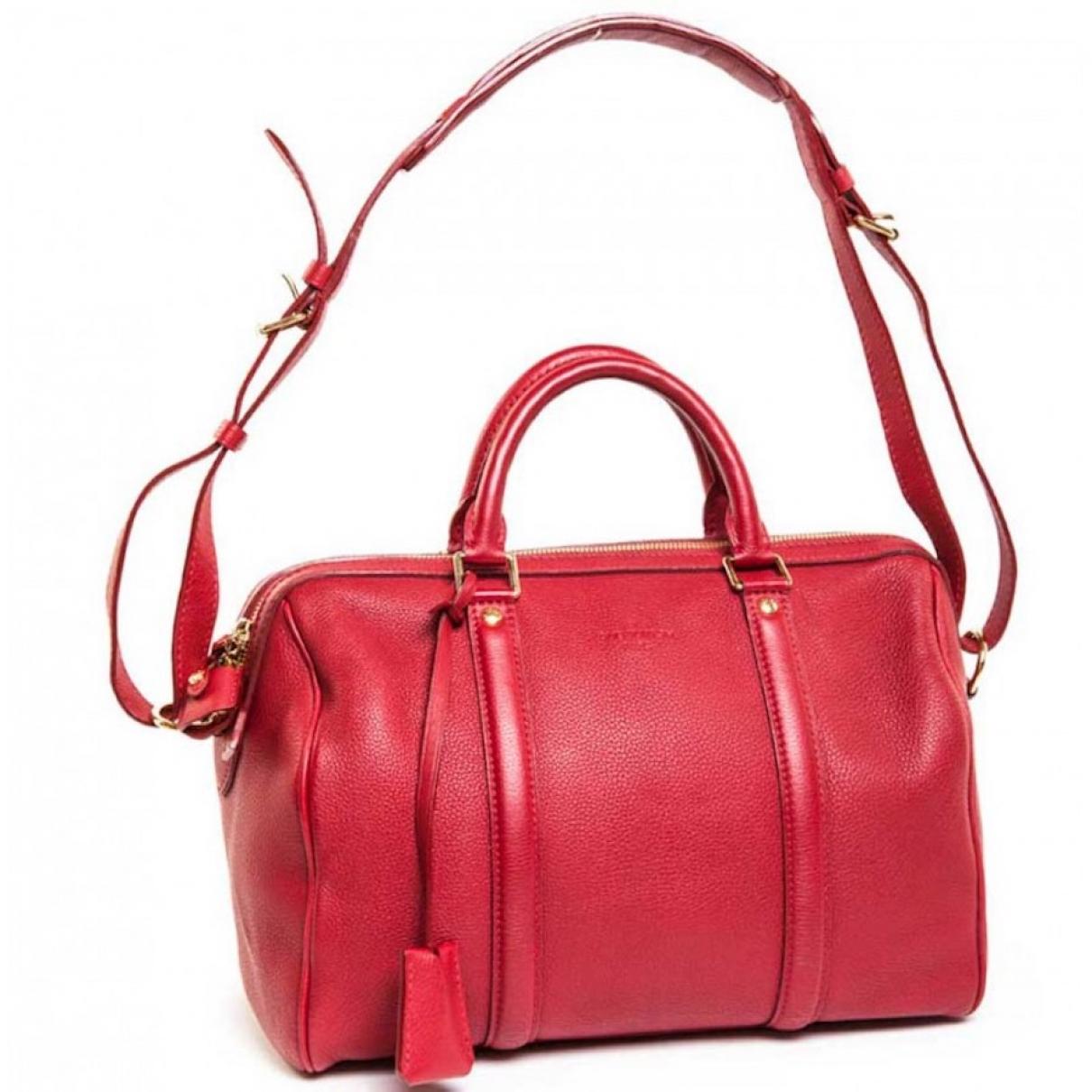 Louis Vuitton Sofia Coppola Handtasche in  Rot Leder