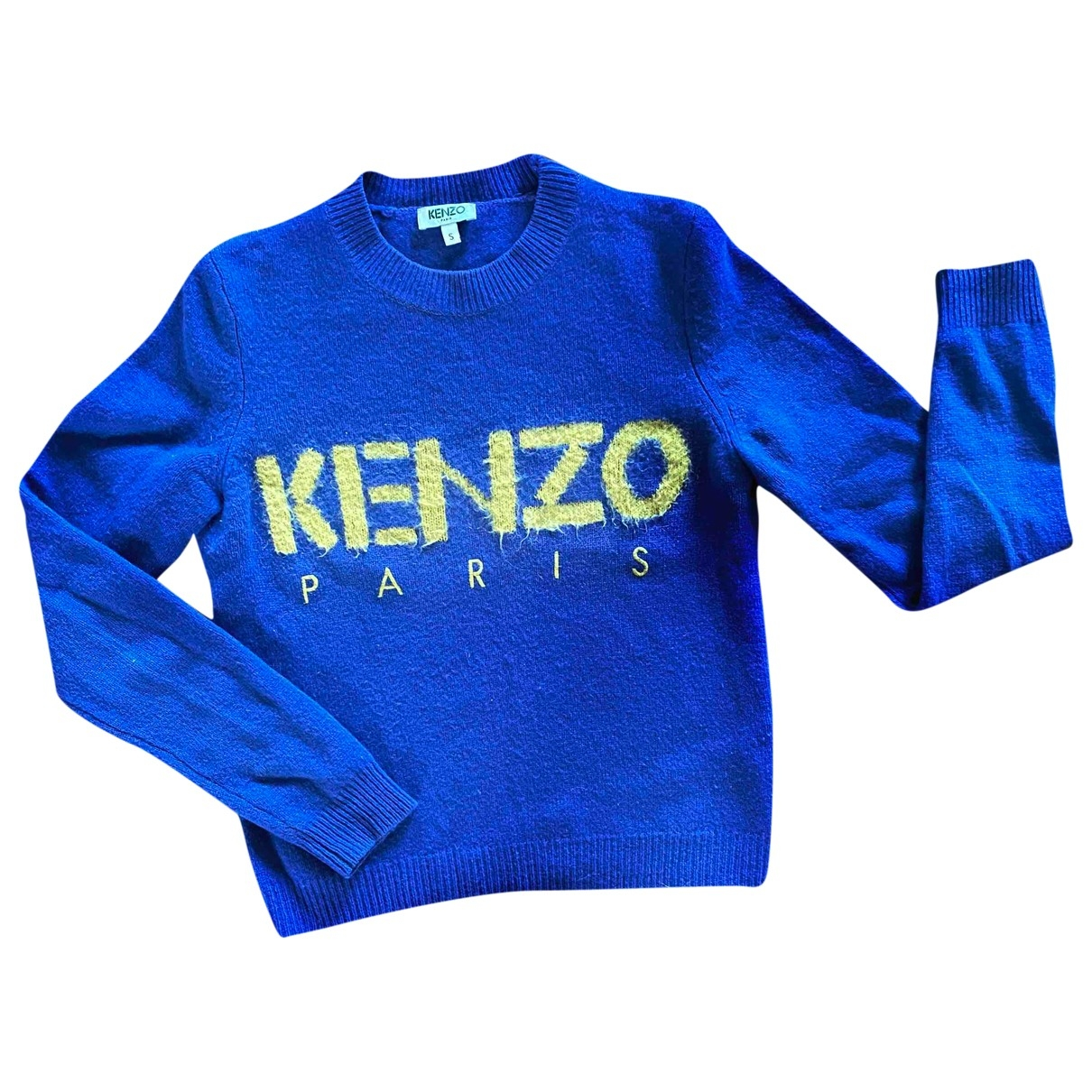 Kenzo \N Blue Wool Knitwear for Women S International