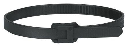 Legrand , Colson Series Black Nylon Cable Tie, 194mm x 7.6 mm