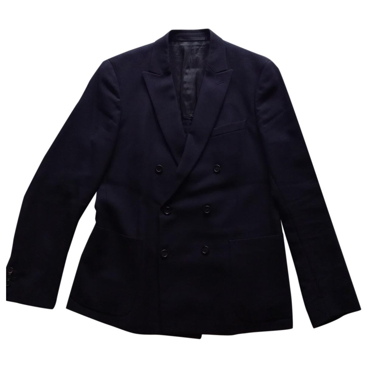 Prada \N Navy Wool jacket  for Men 52 IT