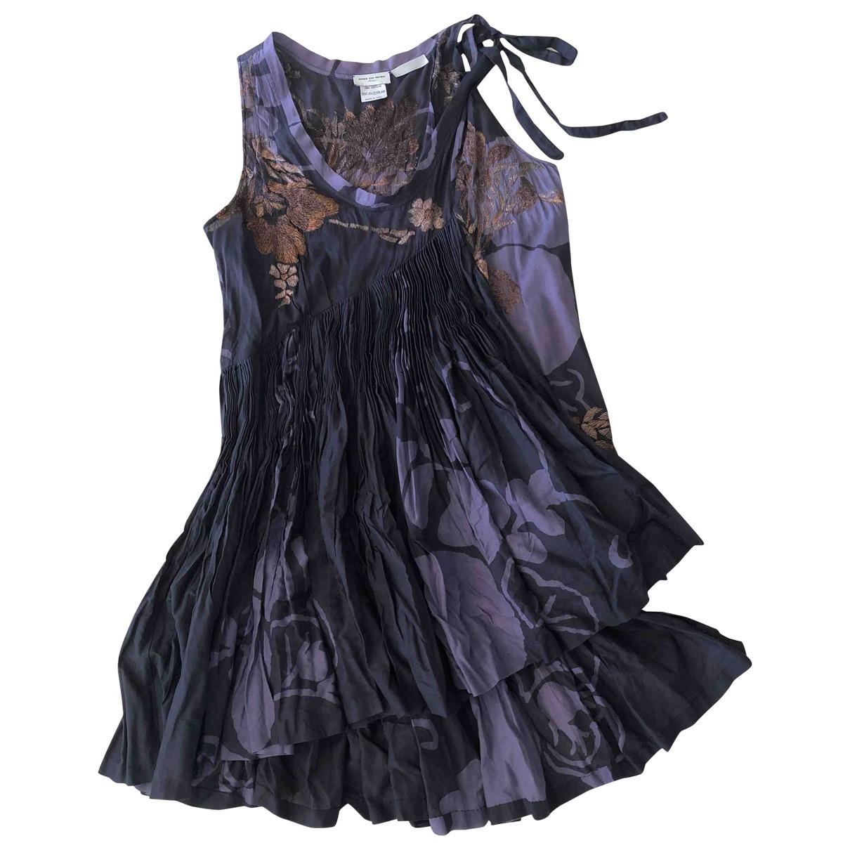 Dries Van Noten \N Purple Cotton  top for Women 38 FR