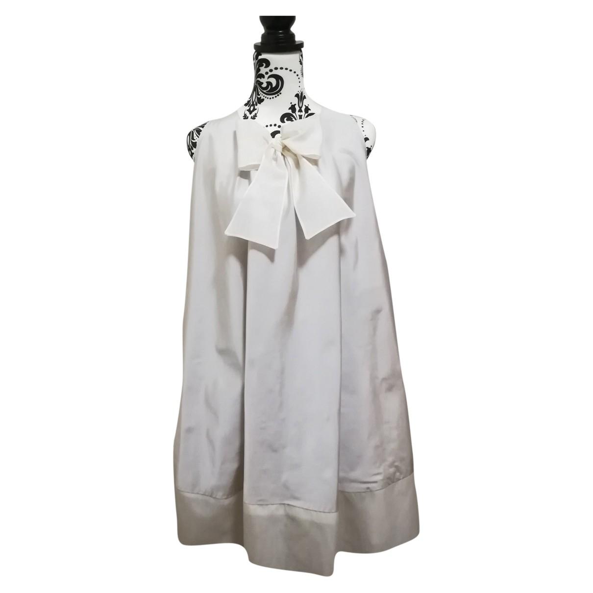 La Stupenderia - Robe    pour enfant en soie - beige