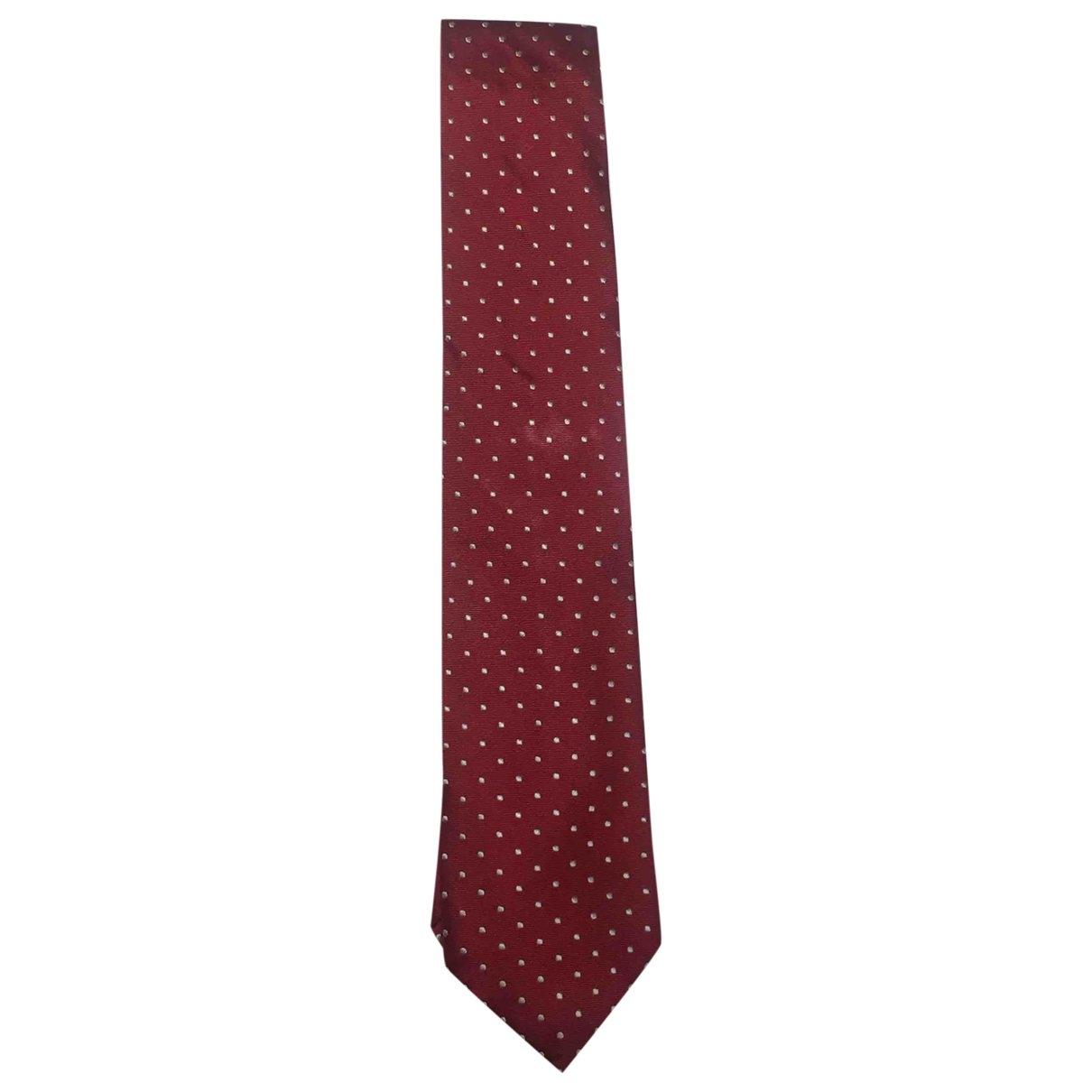Carolina Herrera \N Krawatten in  Rot Seide
