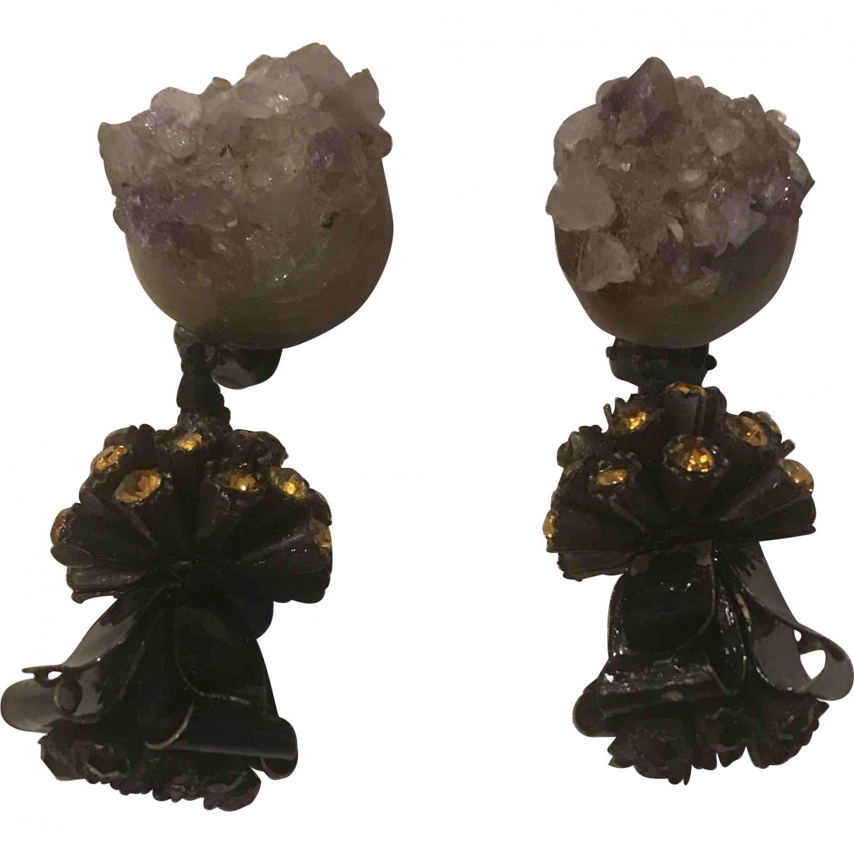 Marni - Boucles doreilles   pour femme en metal - multicolore