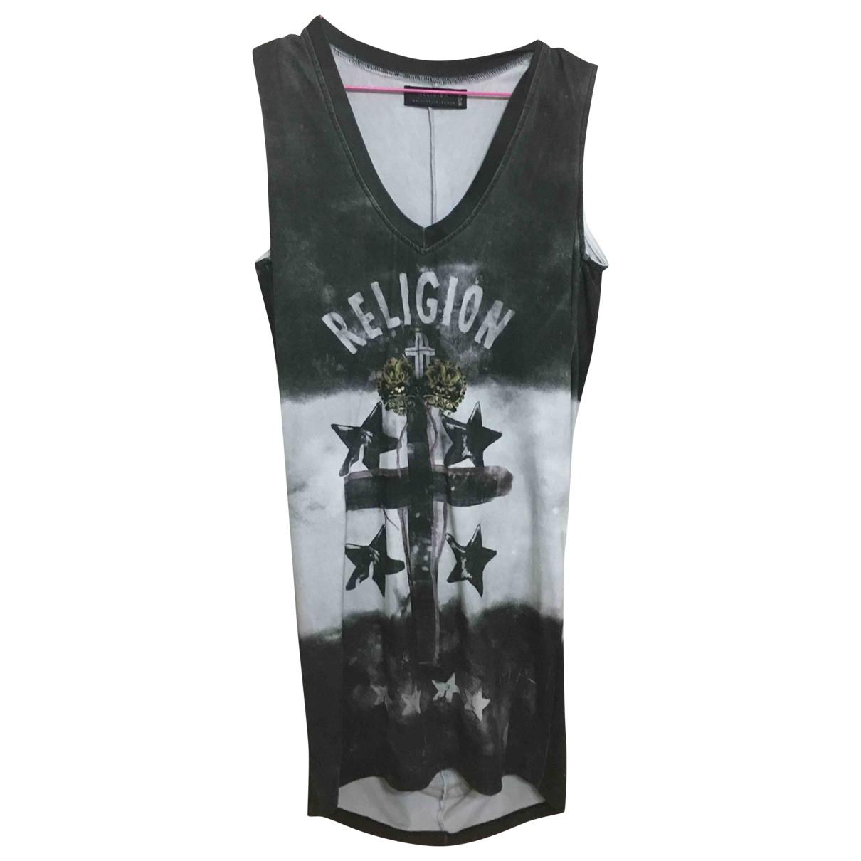True Religion \N Kleid in  Bunt Viskose