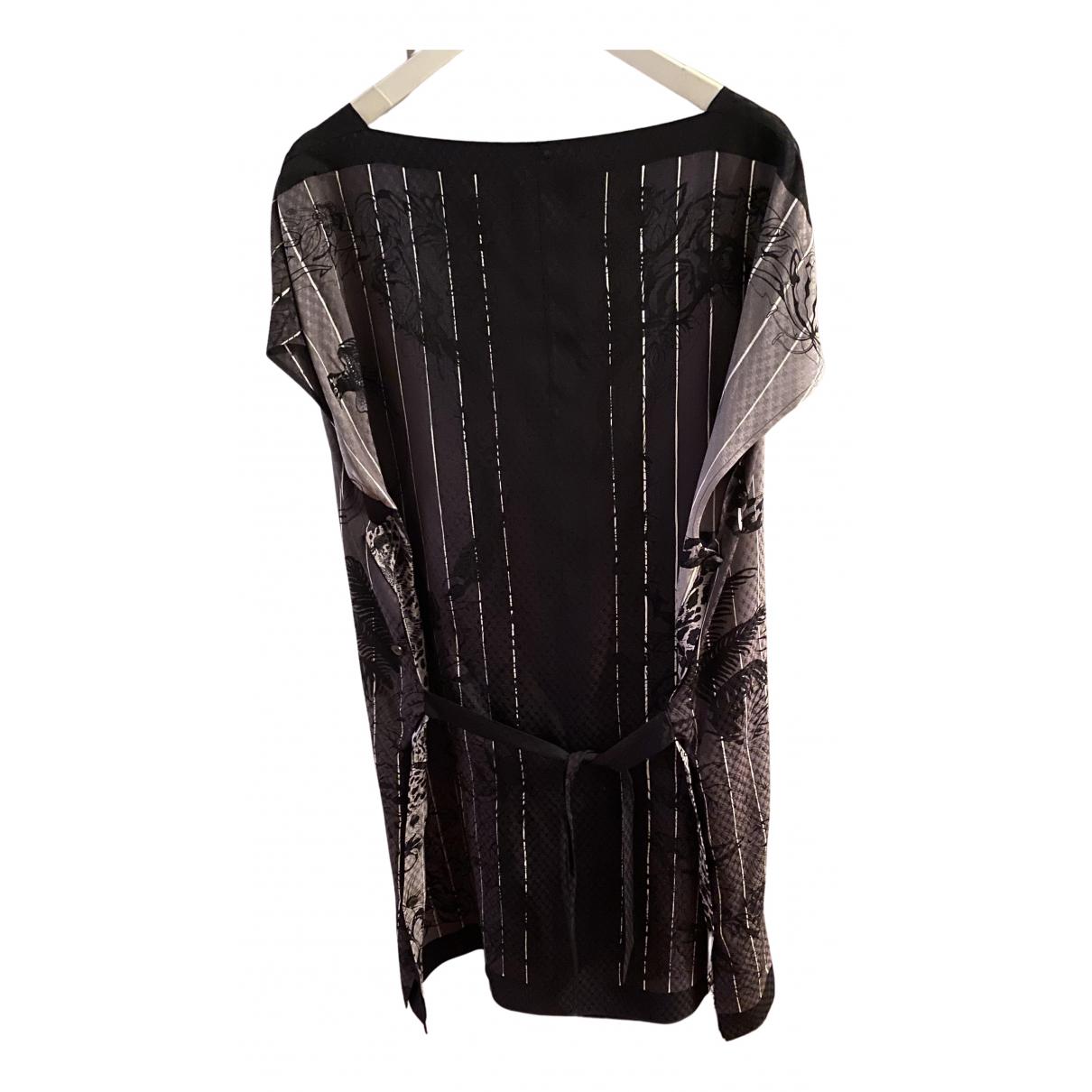 Hermes \N Kleid in  Schwarz Seide