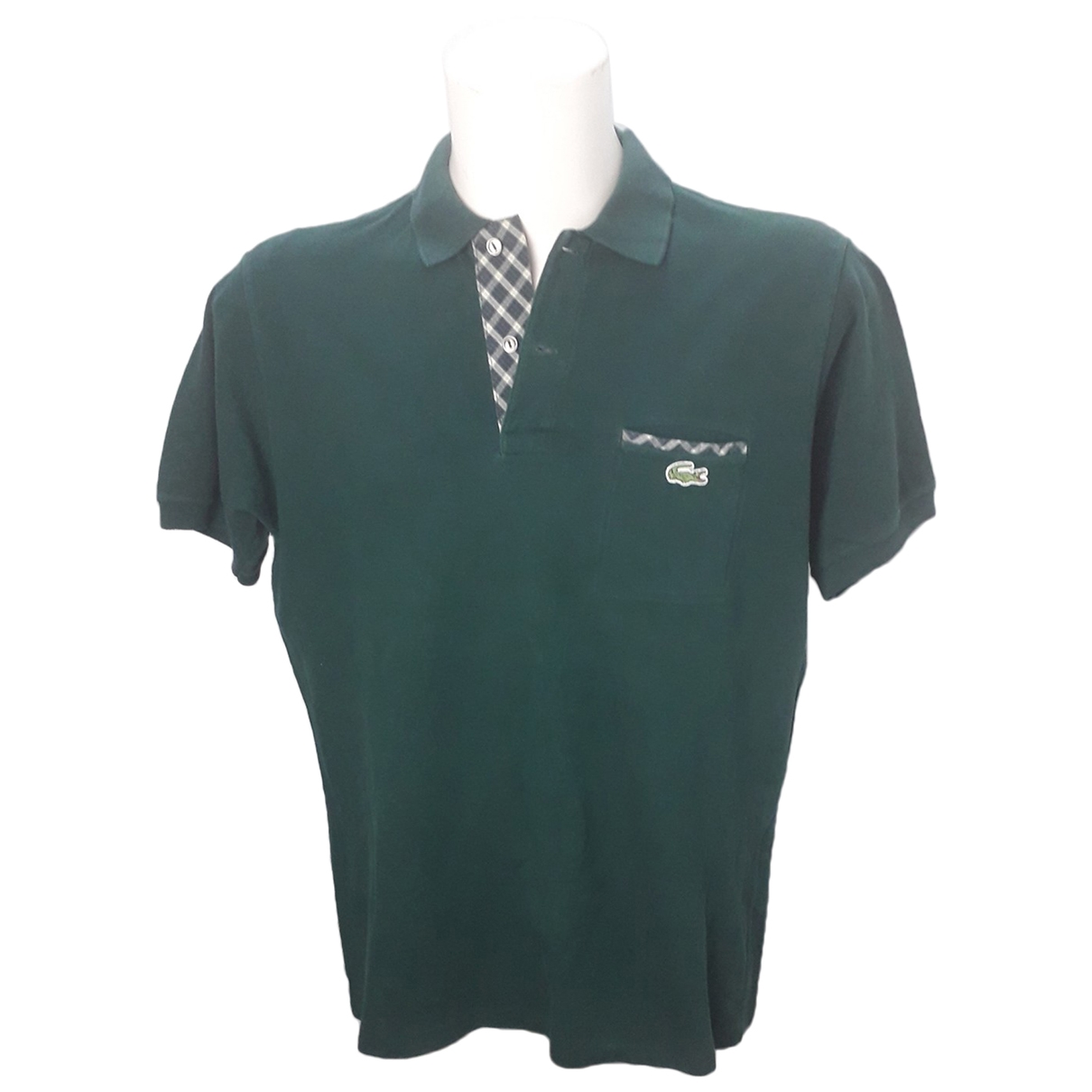 Lacoste \N Green Cotton Polo shirts for Men L International