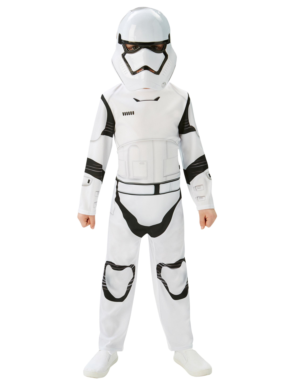 Kinder-Kostuem Star Wars VII, Stormtrooper Kinder Grosse: M