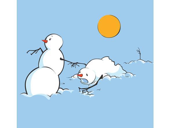Snowmen In Heat T Shirt