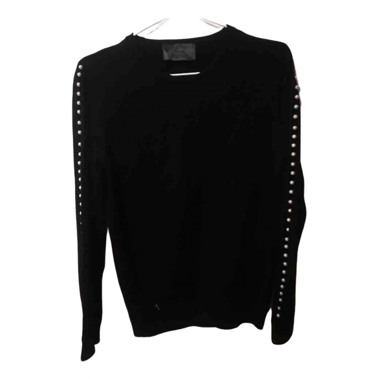 Philipp Plein - Pull   pour femme en coton - noir