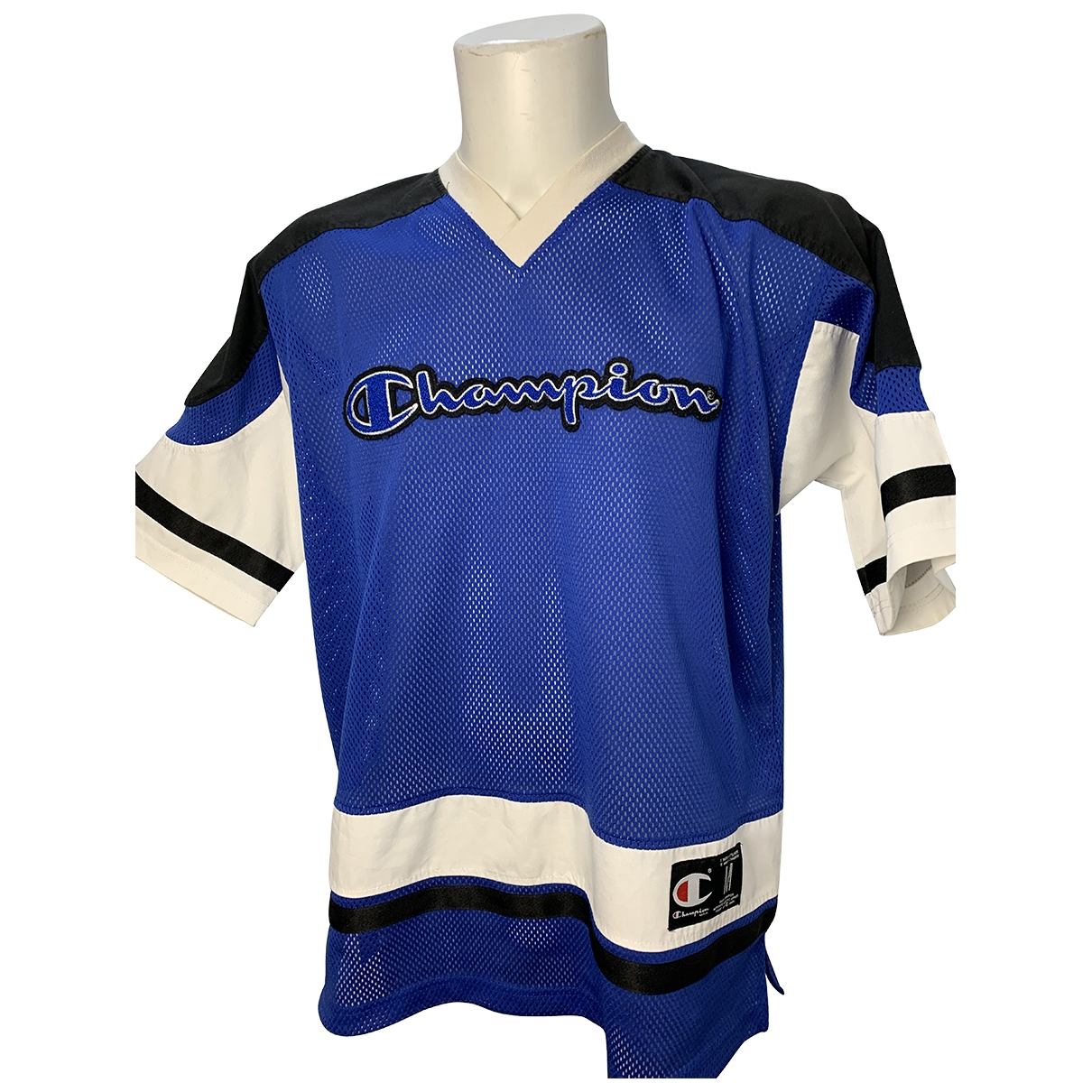 Champion - Tee shirts   pour homme - bleu
