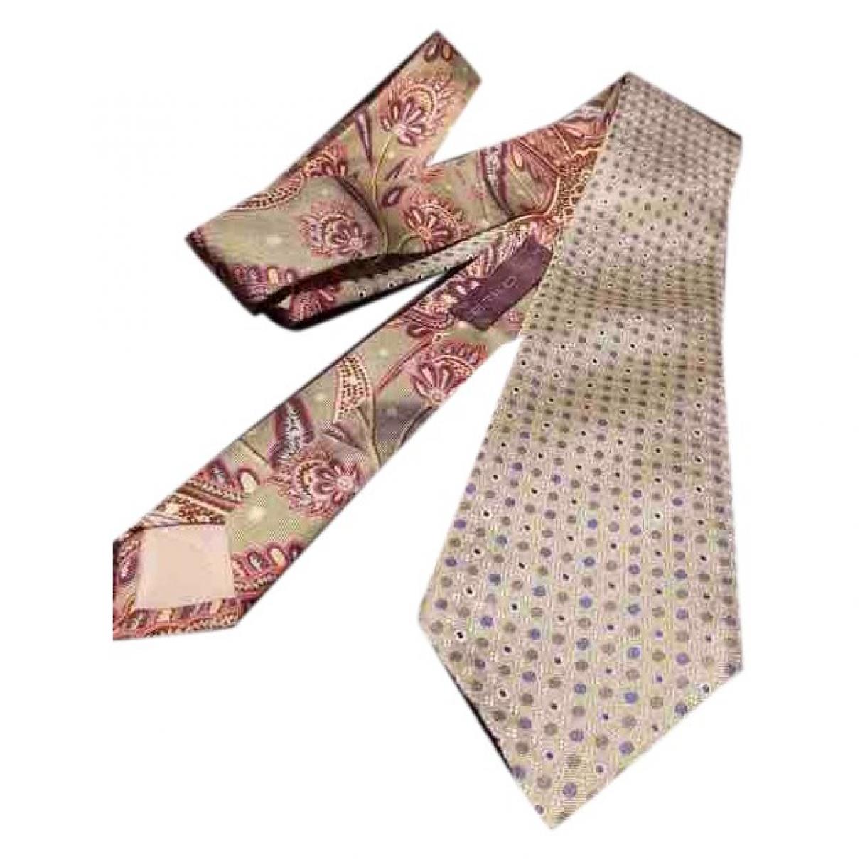 Etro \N Krawatten in  Gruen Seide