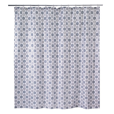 Avanti Dotted Circle Shower Curtain, One Size , Multiple Colors