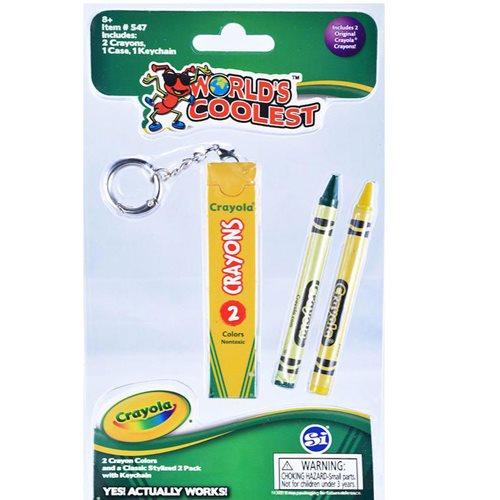 Worlds Coolest Crayola Crayon Box Key Chain