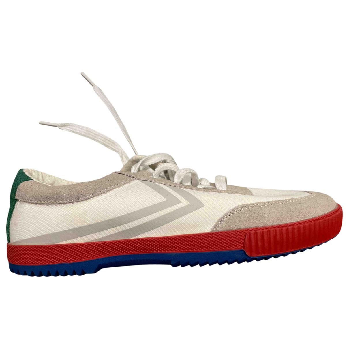 Feiyue \N Sneakers in  Weiss Leinen