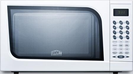 SM901WH .7 cu. ft. Capacity Microwave With Multiple Power Levels  End Of Cycle Buzzer  and One-Touch Auto Cook Menu in