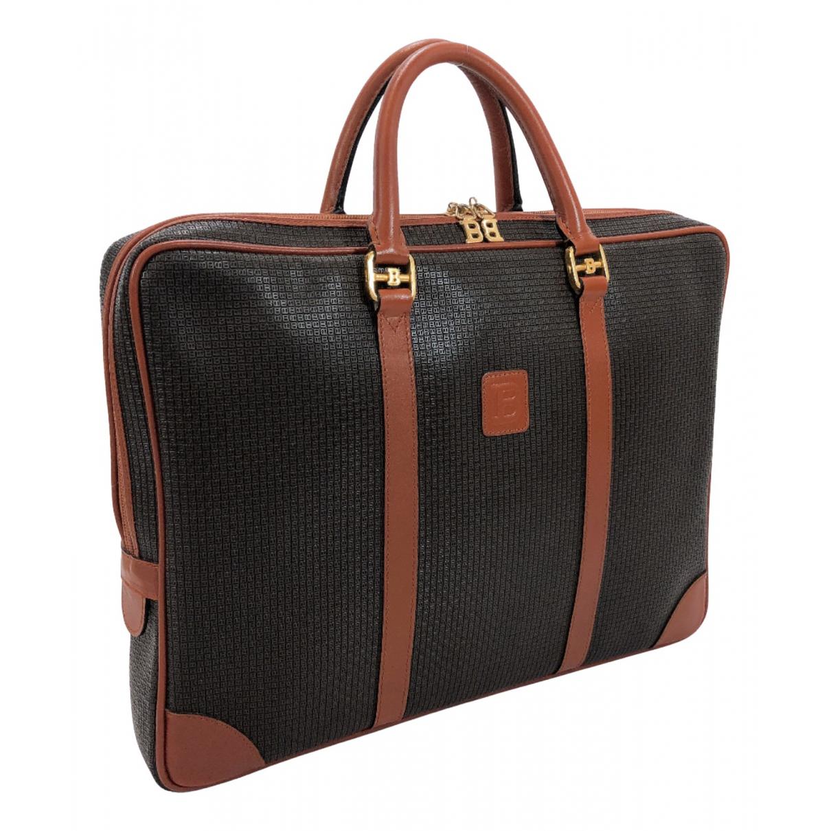 Bally N Black Leather bag for Men N