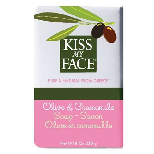 Bar Soap Olive & Chamomile, 8 Oz by Kiss My Face
