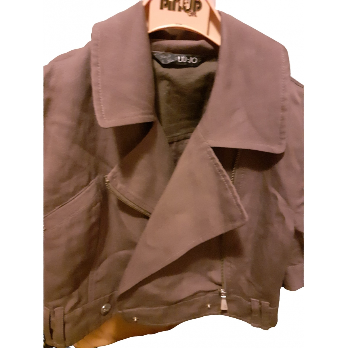 Liu.jo \N Camel Cotton jacket for Women 42 FR