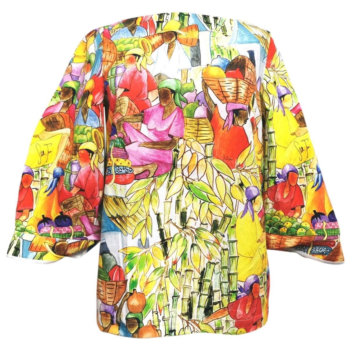 Stella Jean \N Multicolour Cotton  top for Women 40 IT