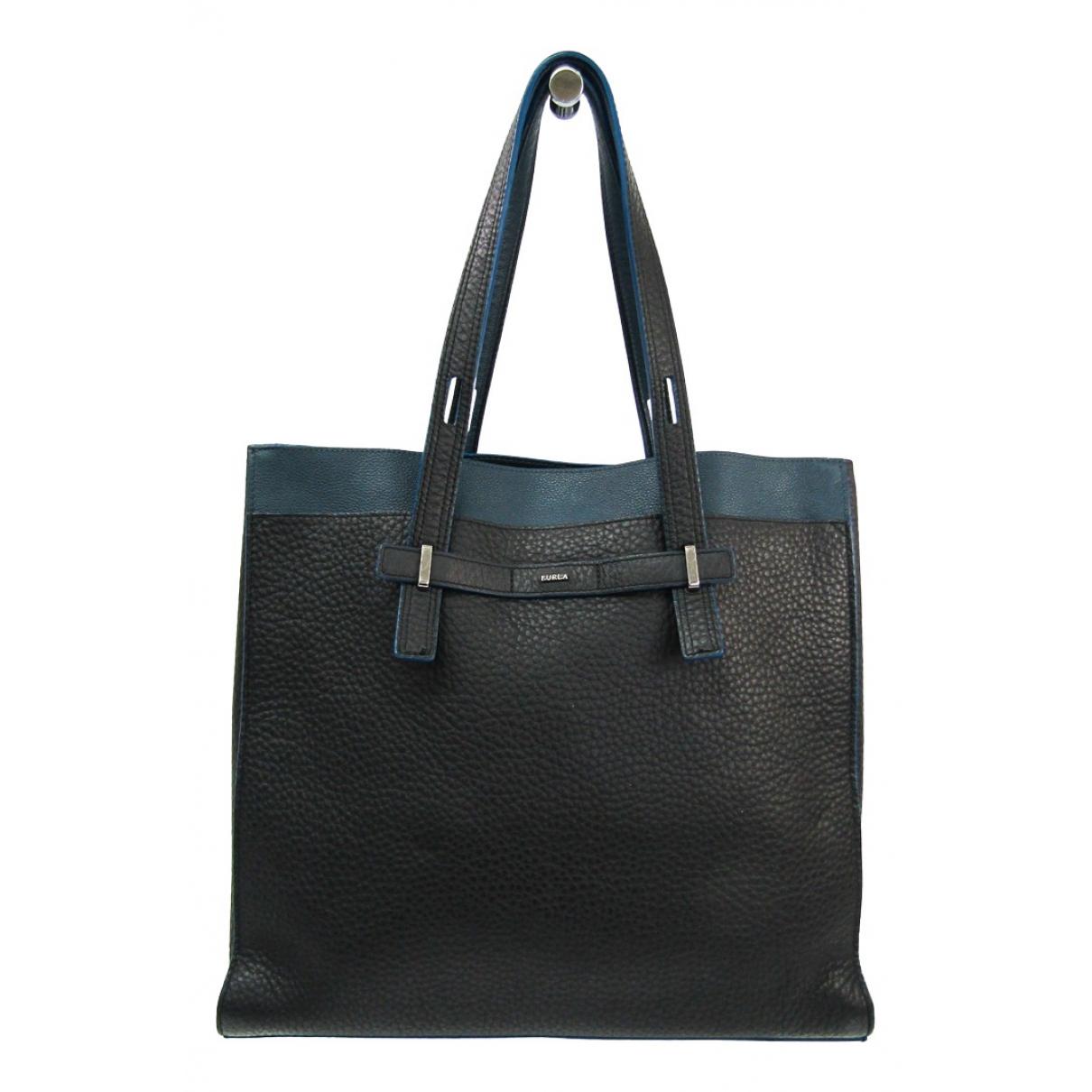 Furla \N Black Leather bag for Men \N