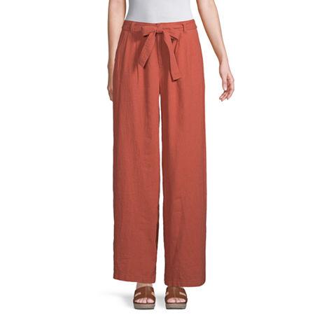 a.n.a Womens Soft Wide Leg Pant, 8 , Brown